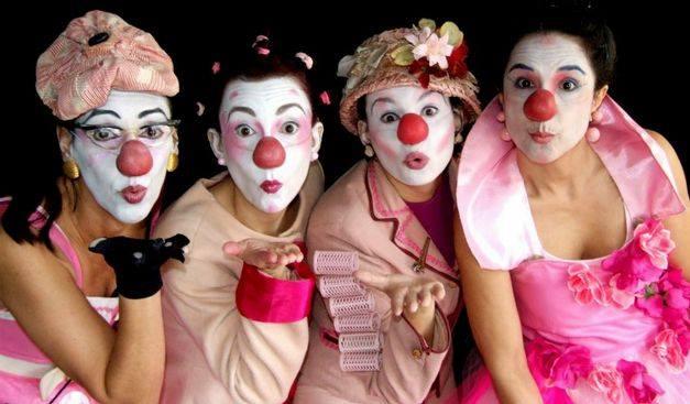 Espetáculos gratuitos do grupo de mulheres palhaças As Marias da Graça