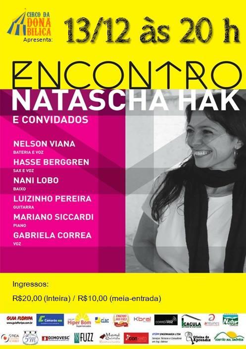 Show Encontro de Natascha Hak e Convidados
