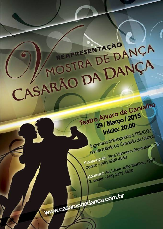 V Mostra de Dança do Casarão da Dança