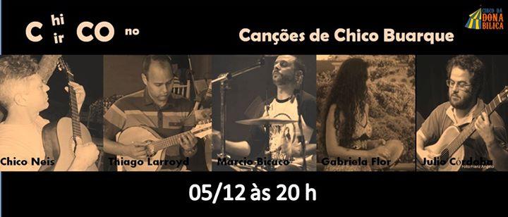 Grupo Roda Viva apresenta canções de Chico Buarque