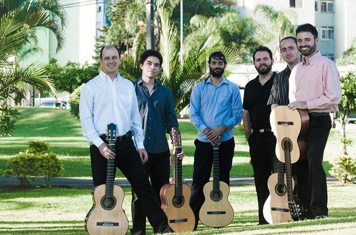 Recital com professores e alunos de violão da Udesc