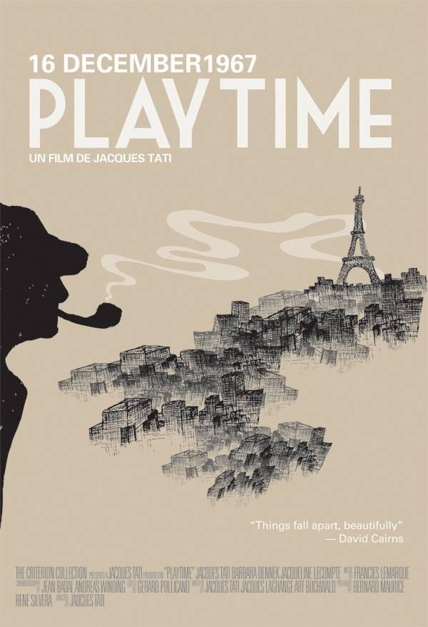 """Cineclube Badesc exibe """"Playtime - Tempo de diversão"""" de Jacques Tati"""