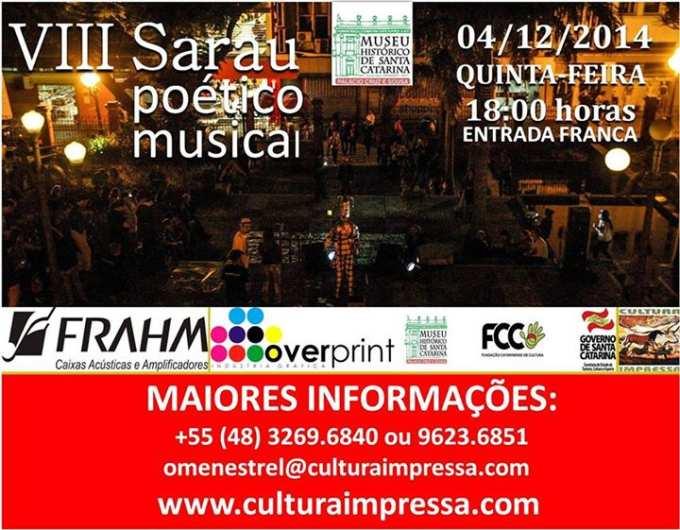 VIII Sarau Poético Musical