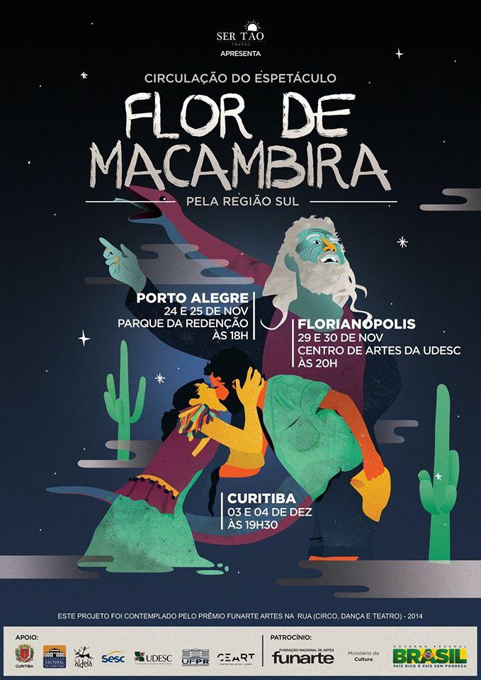 """Premiado espetáculo paraibano """"Flor de Macambira"""""""