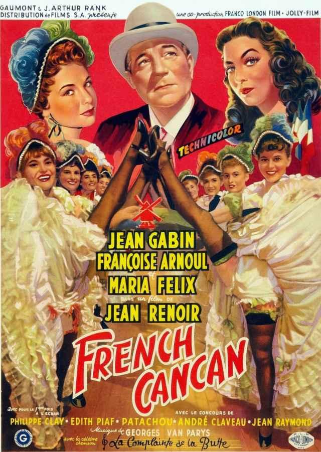 "Cineclube Badesc exibe ""French Cancan"", de Jean Renoir"