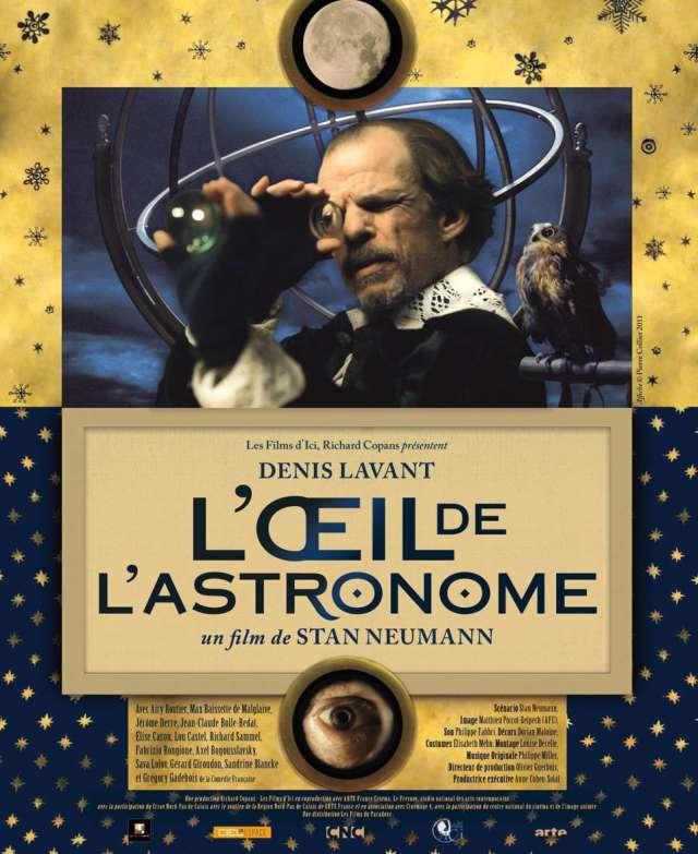 """Cineclube Badesc exibe """"O olho do astrônomo"""", de Stan Neumann"""