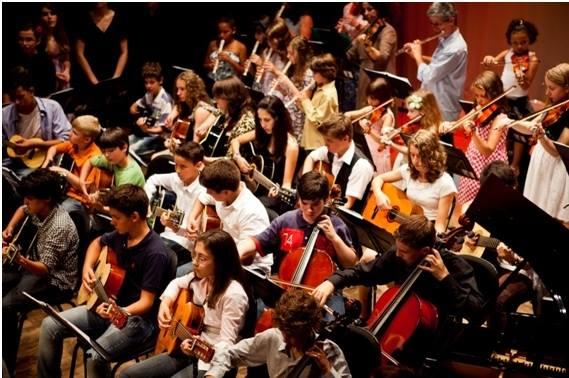 Apresentação dos Alunos da Escola de Música Fazendo Arte