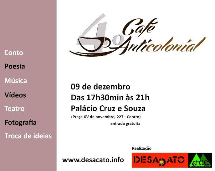 4º Café AntiColonial do Portal Desacato