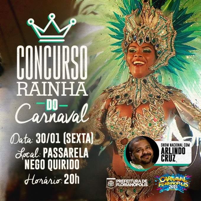 Concurso Rainha do Carnaval Florianópolis 2015