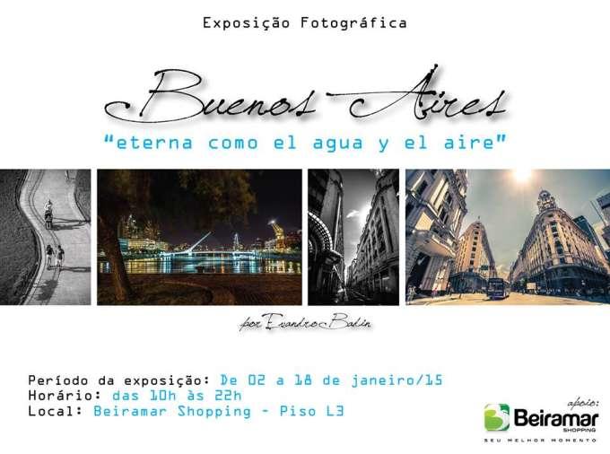 """Exposição """"Buenos Aires – eterna como el agua y el aire"""", do fotógrafo Evandro Badin"""