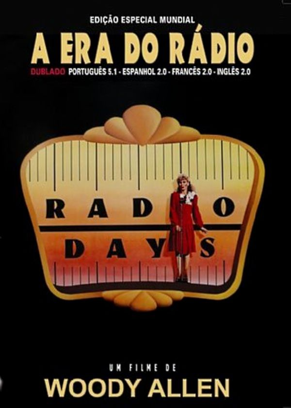 """Cineclube Badesc exibe """"A era do rádio"""", de Woody Allen"""