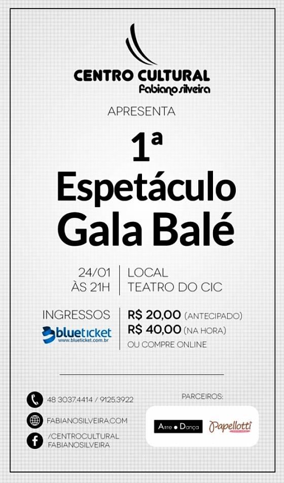1º Espetáculo Gala Balé