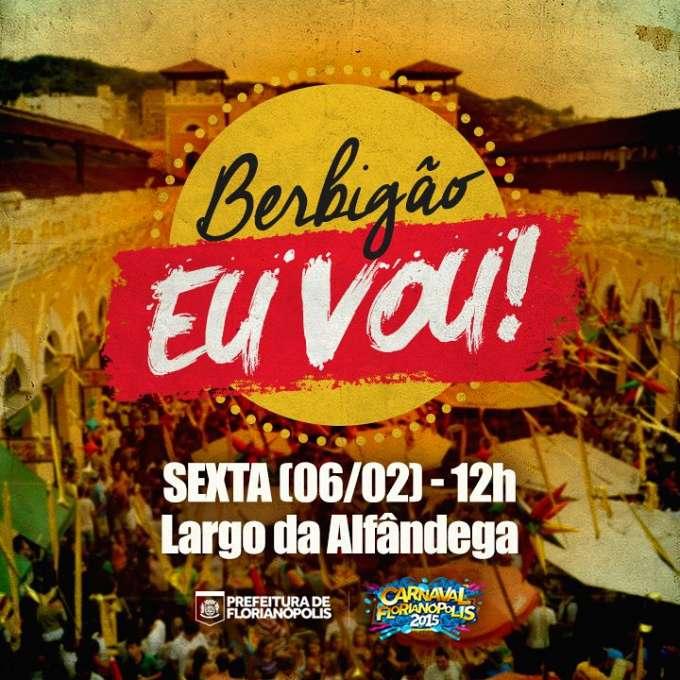 Berbigão do Boca 2015 - Carnaval Florianópolis 2015