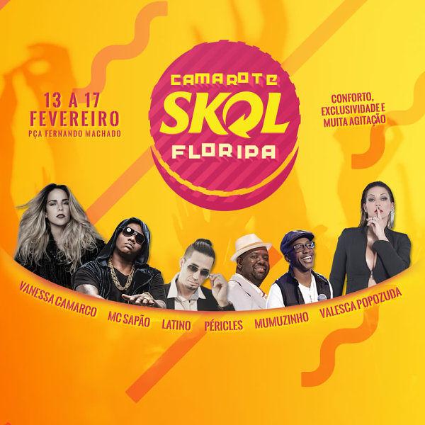 Arena Skol Folia 2015 - programação