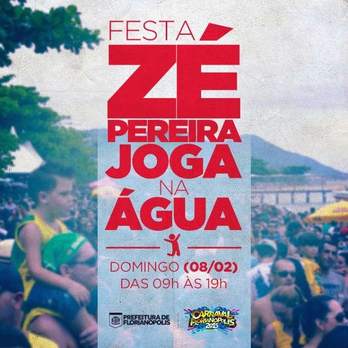 Zé Pereira Joga na Água - Carnaval Florianópolis 2015