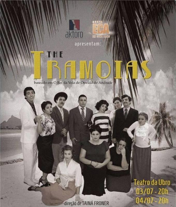 """Peça """"The Tramoias"""" baseada em O Rei da Vela, de Oswald de Andrade"""