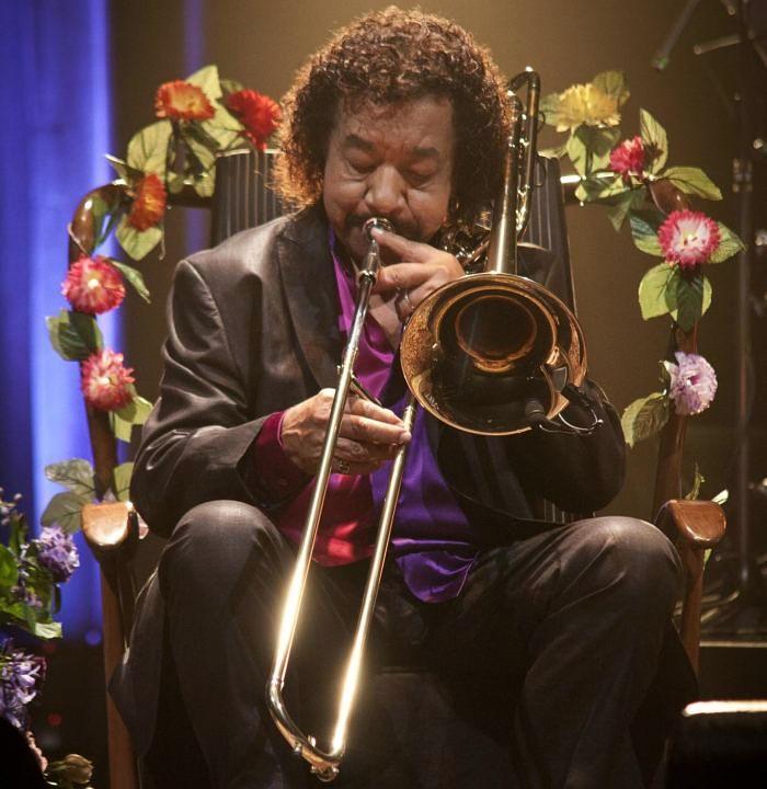 Show gratuito com Raul de Souza, um dos maiores trombonistas do mundo