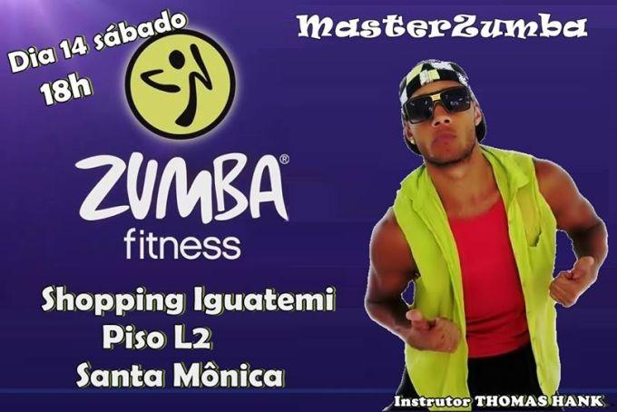 MasterClass Zumba Gratuito no Shopping Iguatemi