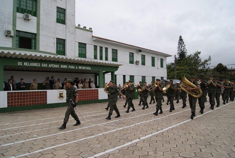 Apresentação da Banda da 14ª Brigada de Infantaria Motorizada