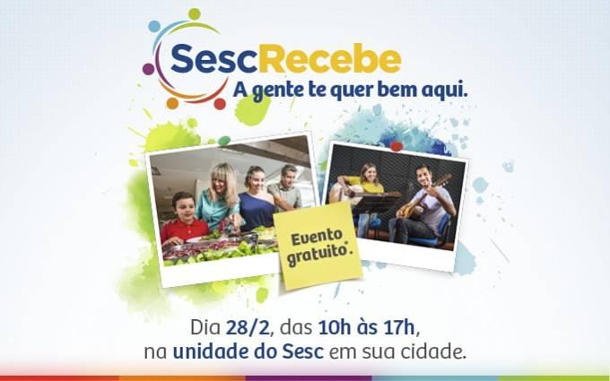 Sesc promove um dia especial para receber à comunidade