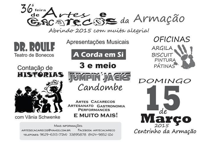 36ª Feira de Artes e Cacarecos