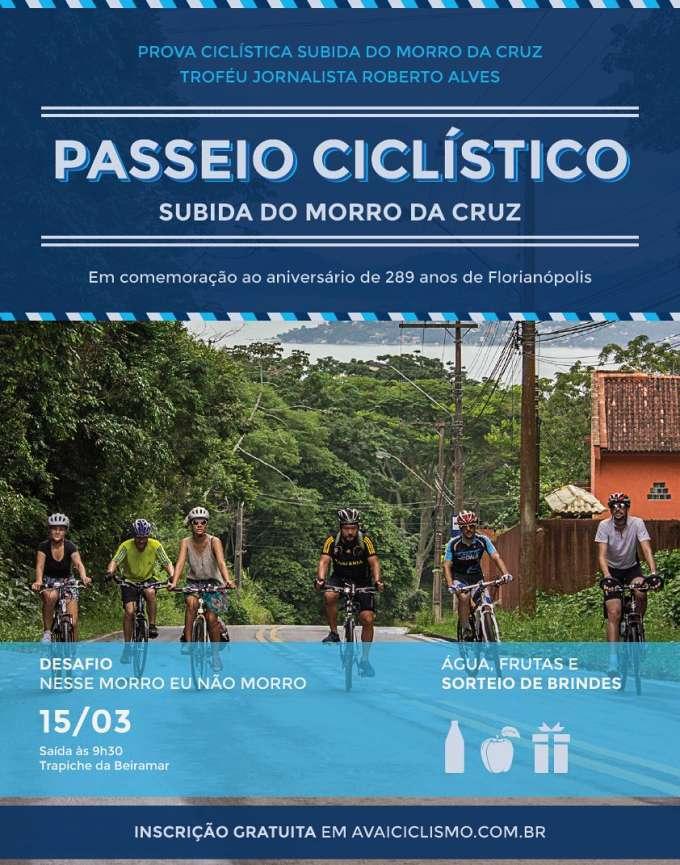 Prova Ciclística Subida do Morro da Cruz 2015