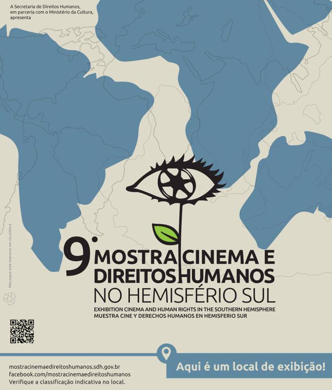 Exibição da 9ª Mostra de Cinema e Direitos Humanos do Hemisfério Sul