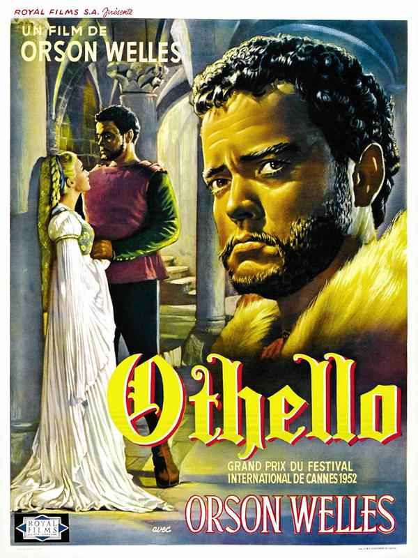 "Cineclube Badesc exibe ""Othello"" de Orson Welles"