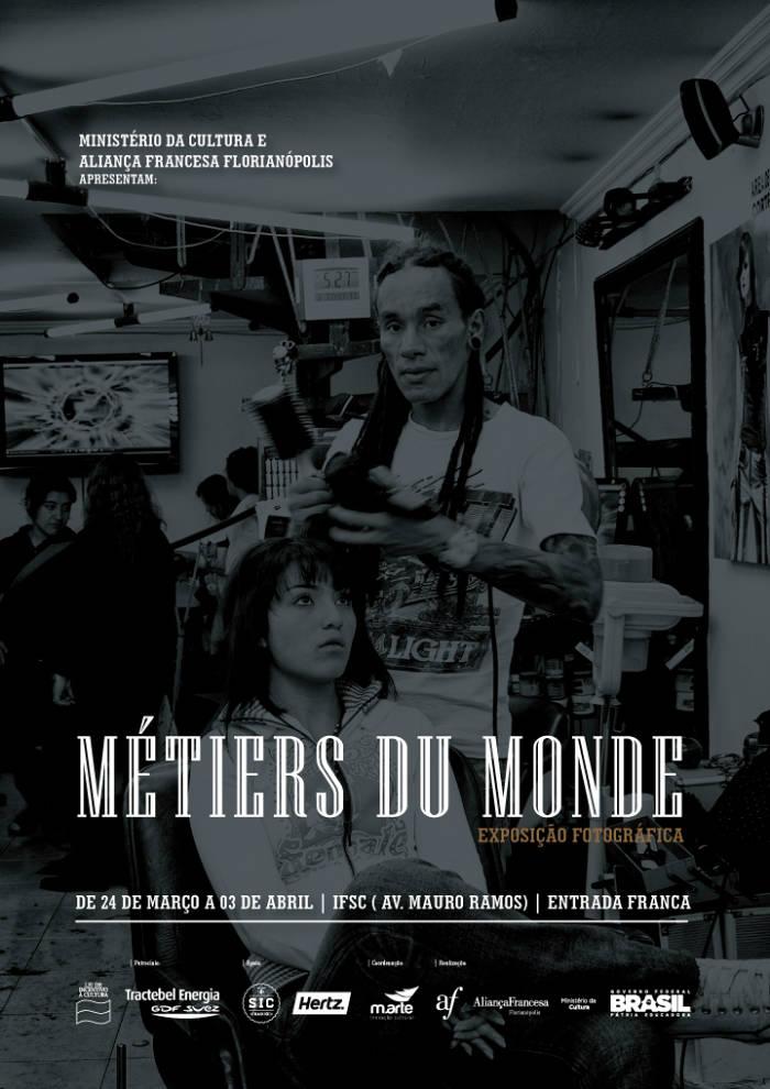"""Reedição da exposição """"Métiers du Monde"""" no IFSC"""