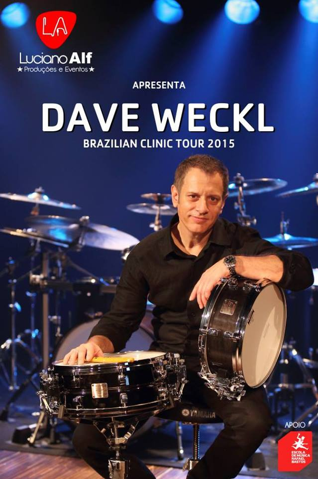 Workshop Internacional de Bateria com Dave Weckl