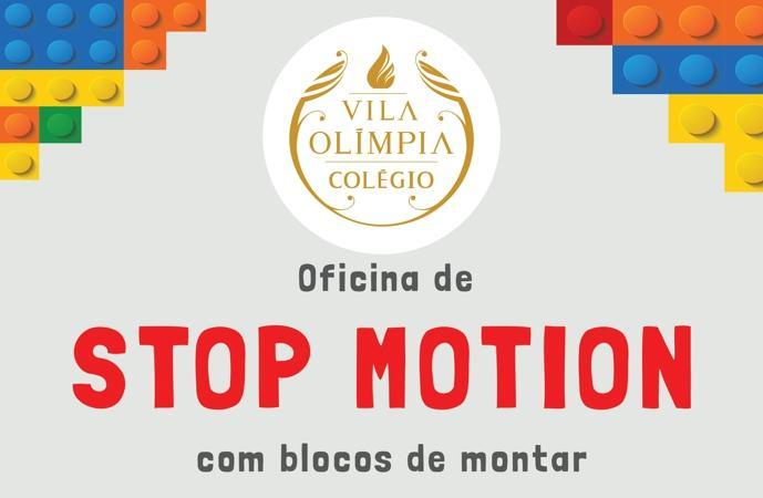 Oficina de Stop Motion para crianças