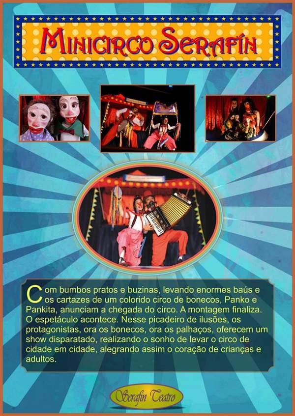 """""""Espetáculo Mini-Circo Serafim"""" - Projeto GRIOT 2014 – Contando Histórias..."""