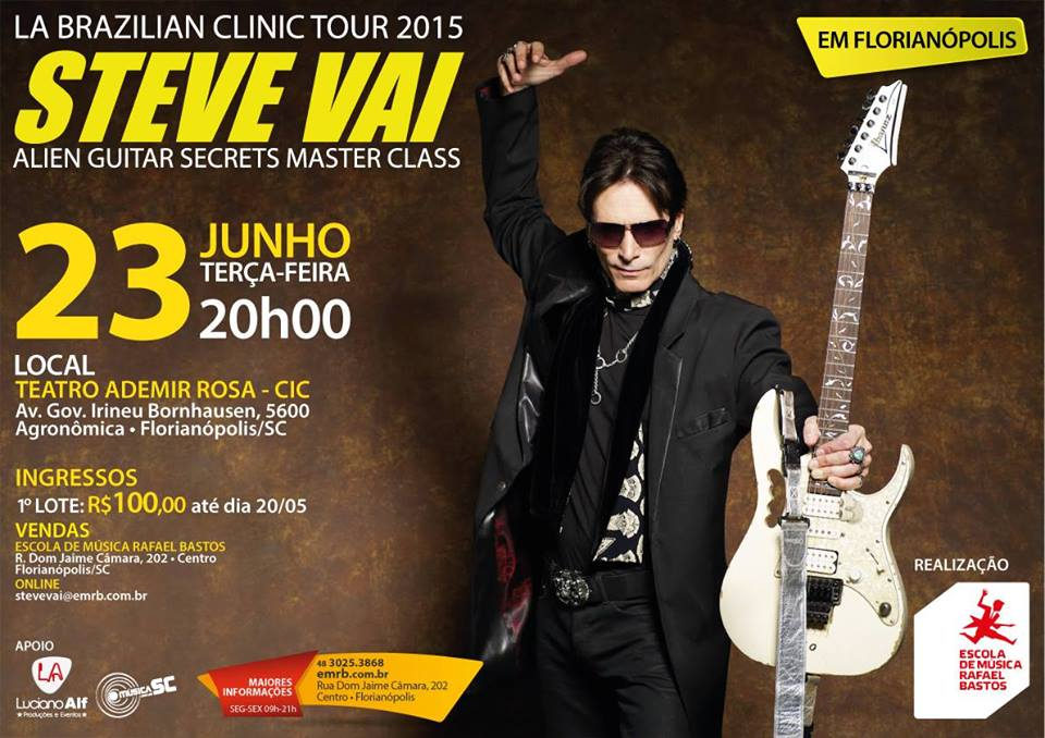 Workshop com Steve Vai