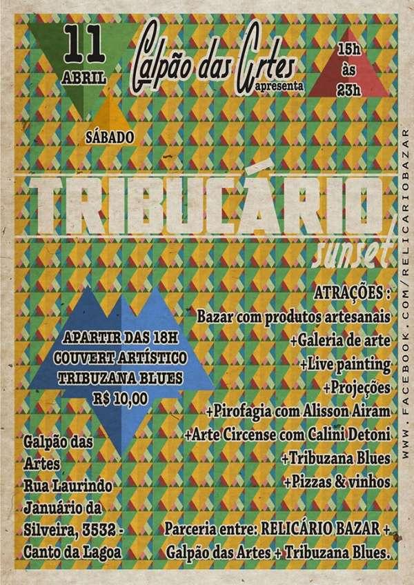 Bazar Tribucário - Relicário + Tribuzana Blues
