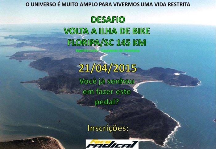 5º Desafio Volta a Ilha de Bike - 145 km