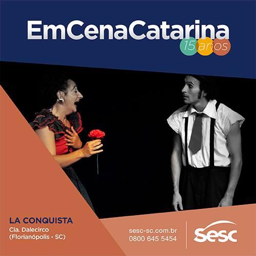 "Espetáculo ""La Conquista"" com Dale Circo"
