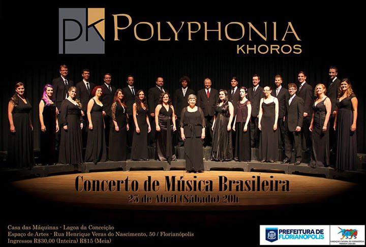 Concerto de Música Brasileira, com Polyphonia Khoros