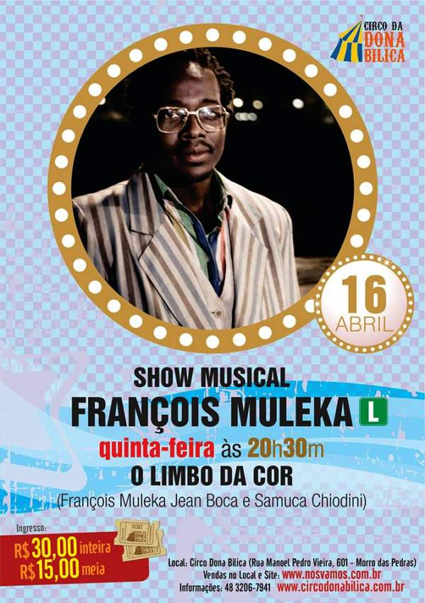 Show com François Muleka