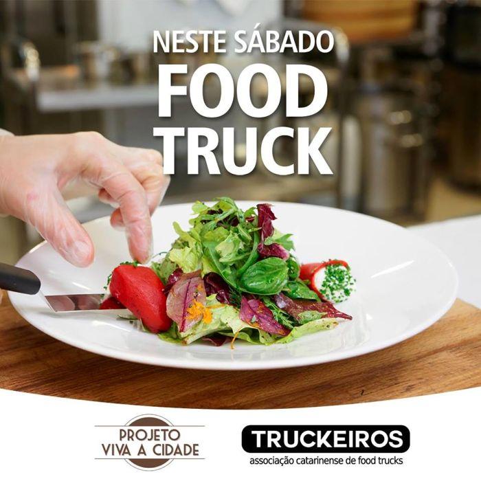 Viva a Cidade - Food Truck, mostra de viaturas militares antigas, som e dança