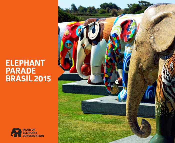 Exposição Elephant Parade