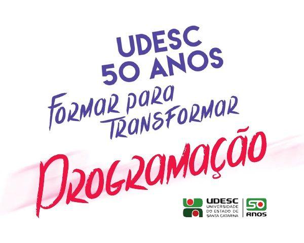 Udesc celebra 50 anos de história com programação especial