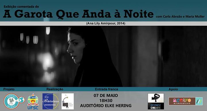 """Cinema Mundo exibe """"A Garota Que Anda à Noite"""""""