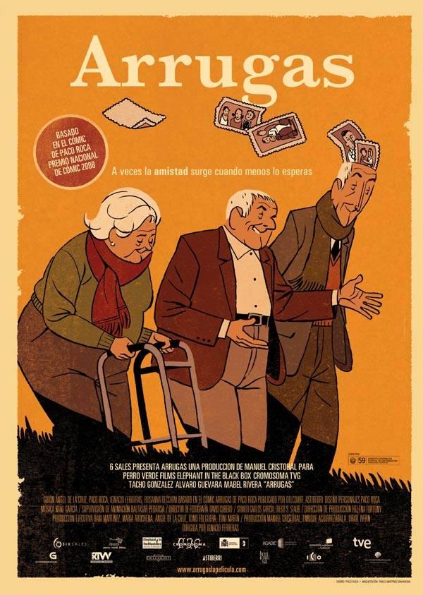 """CineBuñuel exibe premiado longa de animação espanhola """"Arrugas"""""""