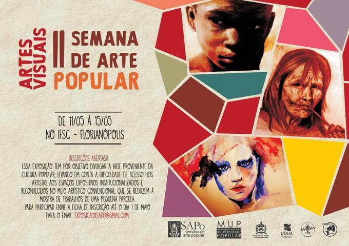 Artes Visuais da II SAPo - Semana de Arte Popular