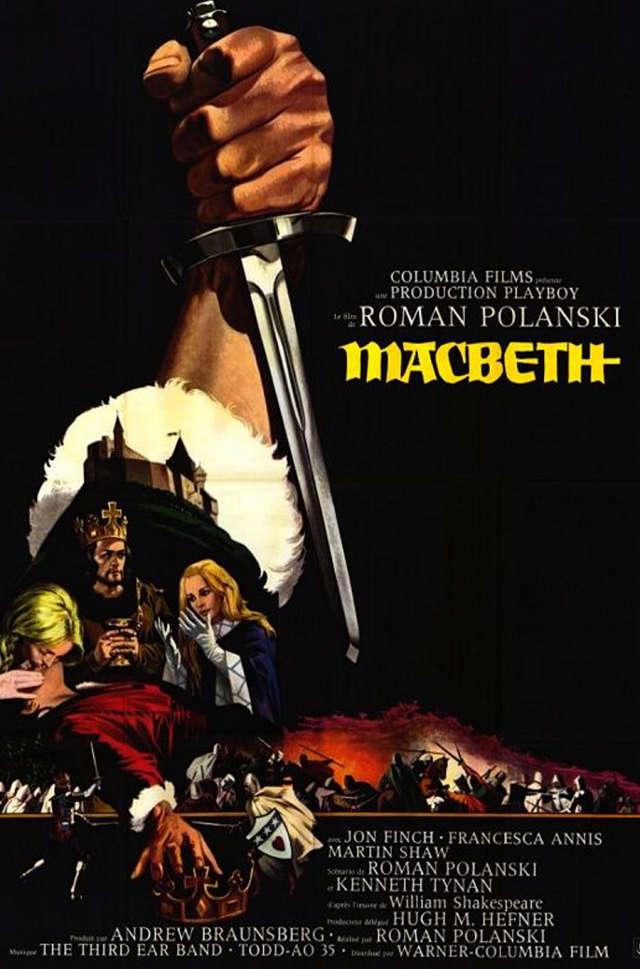 "Cineclube Badesc exibe ""Macbeth"" (The Tragedy of Macbeth) de Roman Polanski"