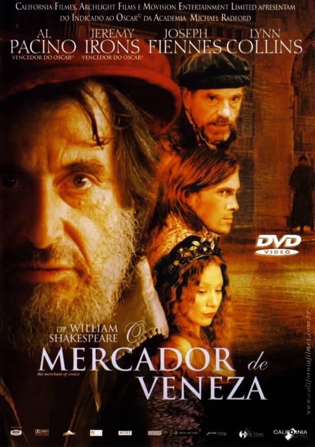 "Cineclube Badesc exibe ""O mercador de Veneza"" de Michael Radford"