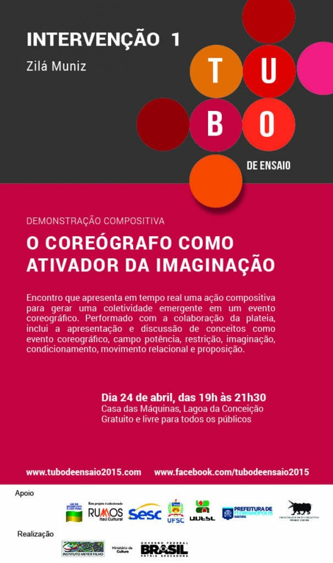Projeto Tubo de Ensaio - Encontro com a bailarina Zilá Muniz