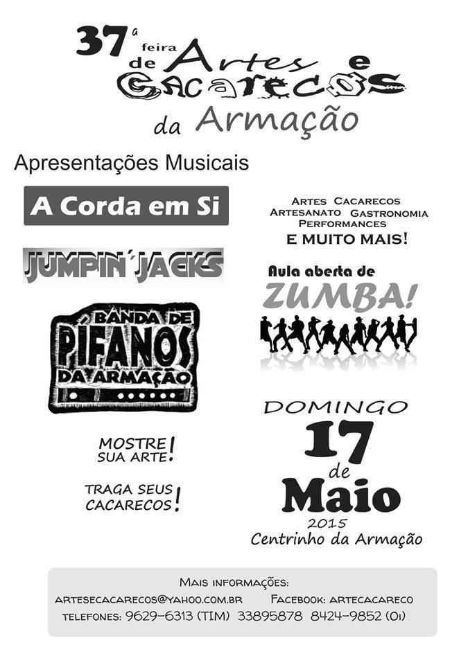 37ª Feira de Artes e Cacarecos