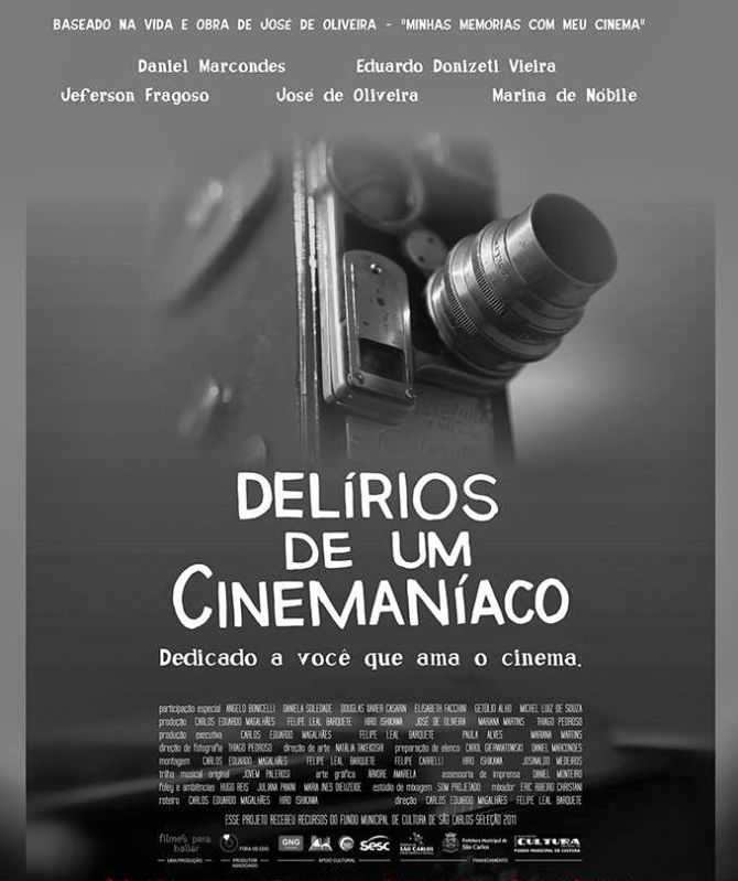 "Cineclube Badesc exibe ""Delírios de um cinemaníaco"""