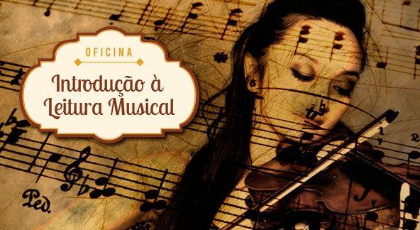 Inscrições para Oficina gratuita de Introdução à Leitura Musical